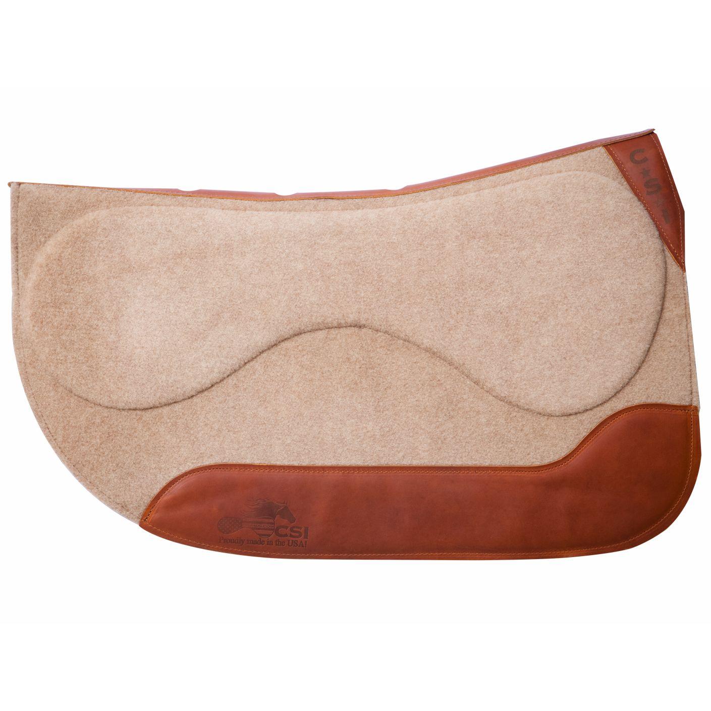 CSI Standard Western Flexplate Saddle Pad