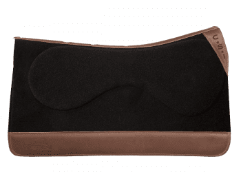 """Standard Cut - Black with Brown Leather, 32"""""""