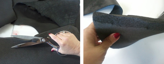 CSI Saddle Pads how to bevel your Shims