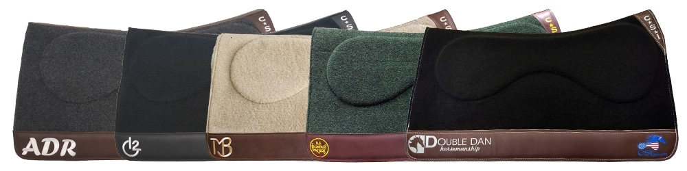 CSI Saddle Pad Customize Embroidery Options